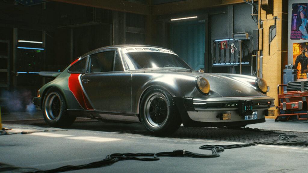 Cyberpunk 2077 tendrá un Porsche 911 Turbo