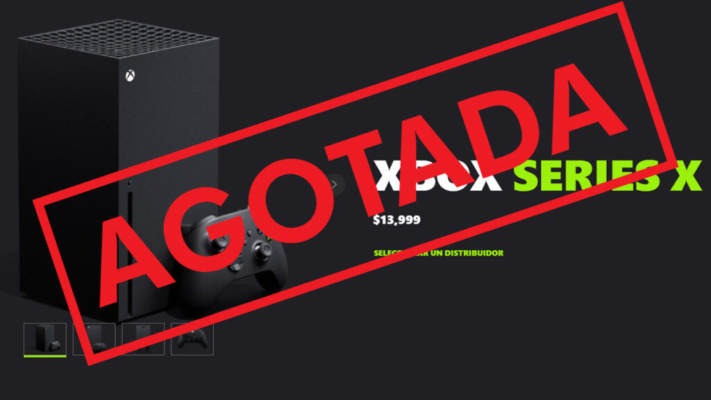 Preventa exitosa para Xbox en México