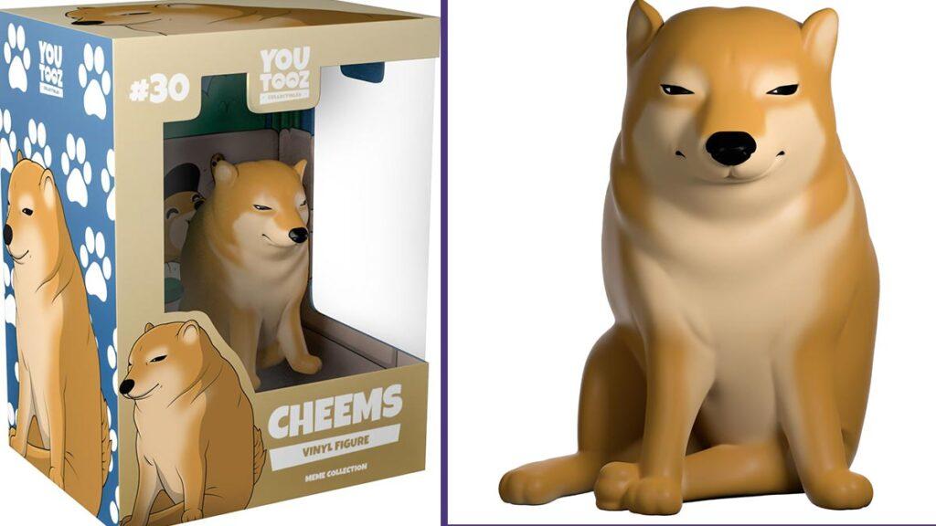 A la venta figuras coleccionables del meme Doge vs Cheems