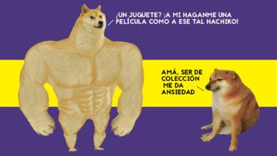 Photo of A la venta figuras coleccionables del meme Swole Doge vs Cheems