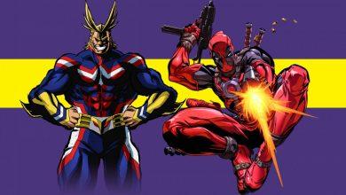 BNHA y Deadpool: El crossover