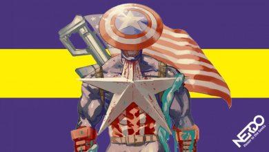 Este el brutal Capitán América hecho por el autor de Chainsaw Man